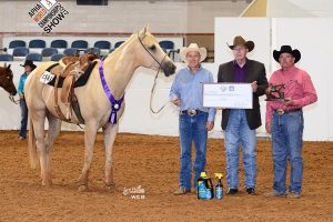 World Championship win at the APHA World Show